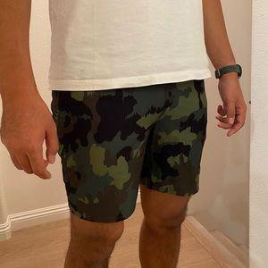 Hurley camo print hybrid swim trunks/shorts